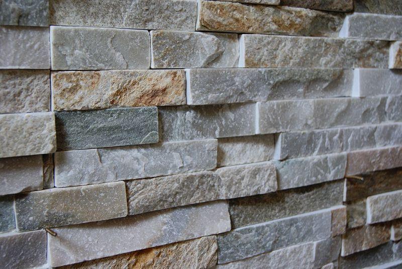 Paneele aus naturstein zur verkleidung von wänden im außen  und ...