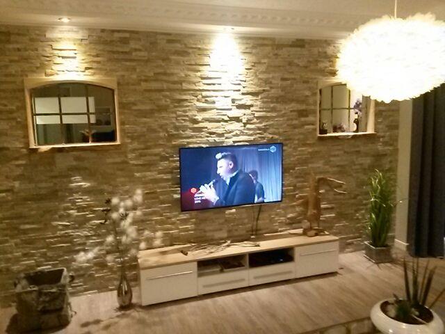 Paneele aus Naturstein zur Verkleidung von Wänden im Außen- und ...
